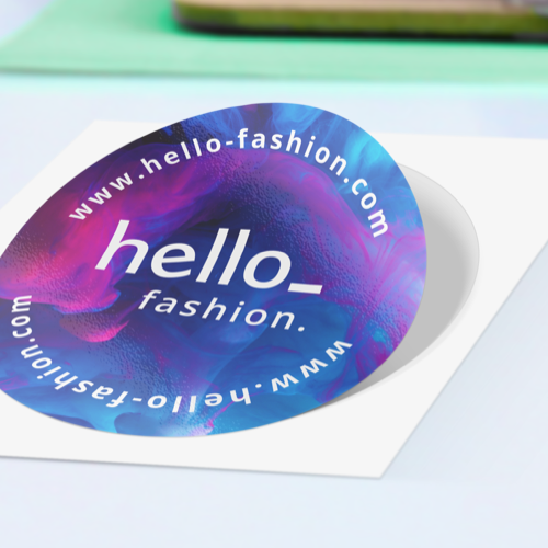 Bedrukte stickers besteld bij Helloprint. Bestel jouw stickers nu met gratis verzending!