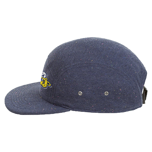 Speckled 5-panel cap