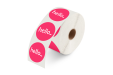 PVC sticker op rol zonder dispenser Helloprint.
