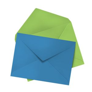 Envelopes Coloured (unprinted) personalisation