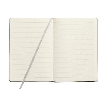 An open A4 pocket notebook available at Helloprint with custom printing solutions for a cheap price