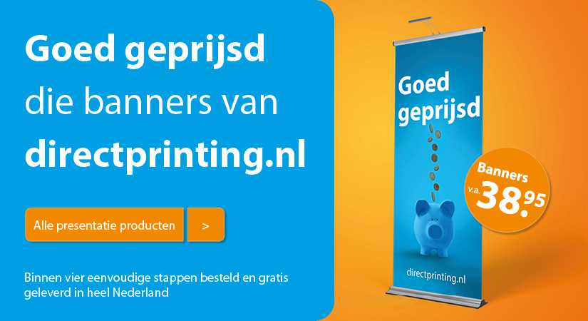 Directprinting.nl - banner 1 January 2018