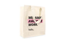 Printed Cotton Bags & Cotton Tote Bags | Helloprint