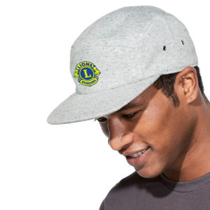 5-panel Speckled Cap with logo