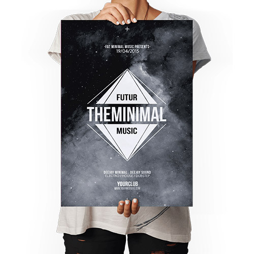 Double Sided Poster Printing Helloprint