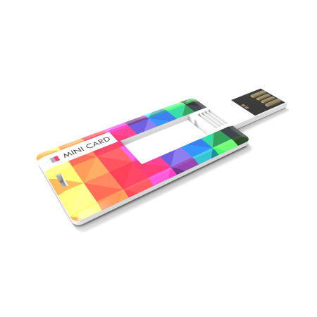 Cheap USB mini card with Helloprint. Learn more about our printed USB products and order print online.