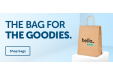 Give your potential customers a goodiebag to take home that will leave a lasting impression.