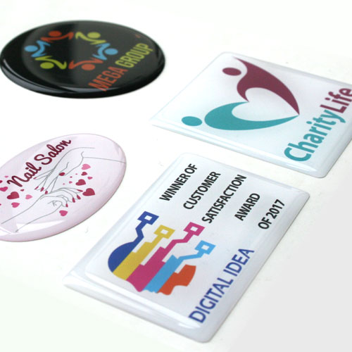 Doming Stickers - 3D Stickers