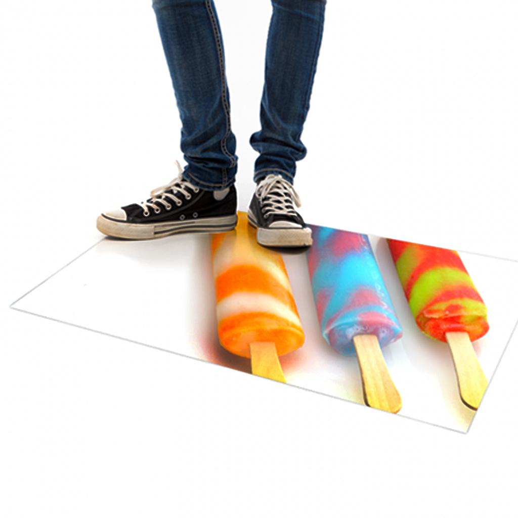 Pide las pegatinas de suelo de mayor calidad en helloprint for Parquet vinilo adhesivo
