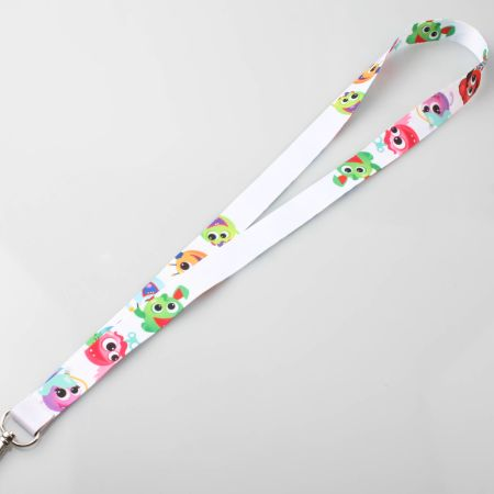 A printed lanyard available at Helloprint with customised printing options for cheap prices