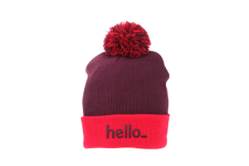5c089fa39ad Promotional Embroidered   Printed Beanies