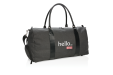 Custom Printed Logo Front Weekend Bag with USB output available at Helloprint