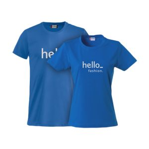 Basic t-shirts personalisation