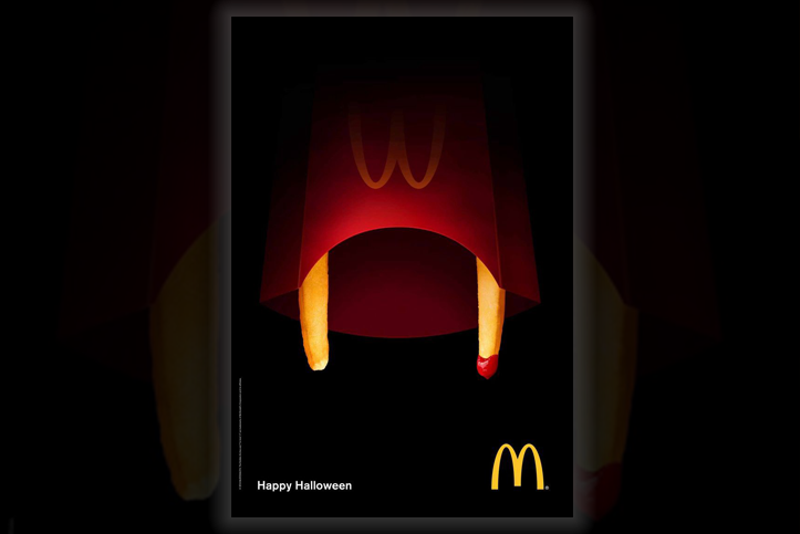 Dracula Fries McDonald's Halloween marketing campaign