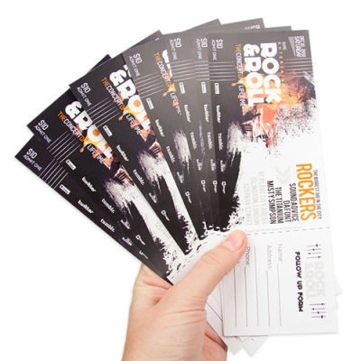 ticket printing by helloprint