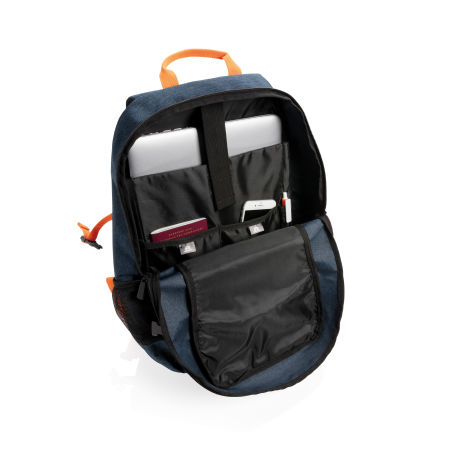 Personalised sport backpack with multiple compartments available at Helloprint.