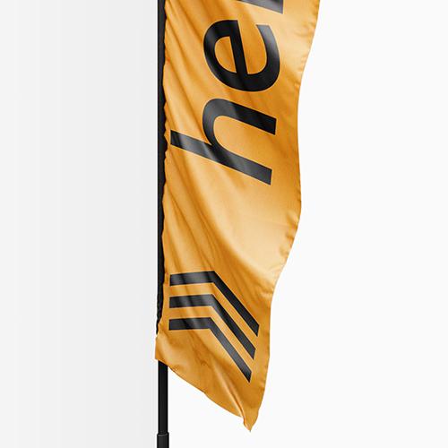 Wingflags aus hochwertigem Stoff bei Helloprint
