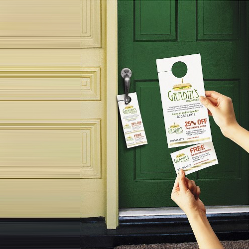 start ordering & Personalised Door Hangers | Helloprint