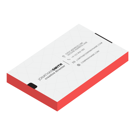 Printed multilayer business cards for your networking and more business opportunities.