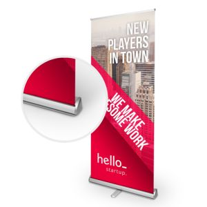 gepersonaliseerde Premium roll-up banners