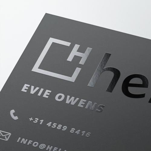 Business Cards with Exclusive Finishes