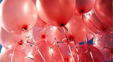 Balloons with Ribbons