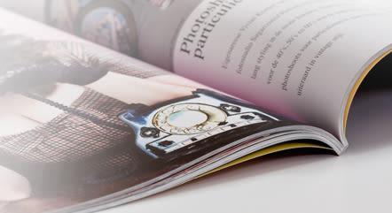 Brochures dos carr coll imprimer helloprint - Papier couche brillant 135g ...