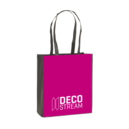 Cheap and sturdy shopping bag with long straps. At Helloprint you can personalise it with your own logo or design.