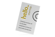 A colourplan paper business card available at Helloprint with customised printing options for a cheap price