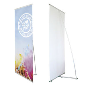 L-banners design with logo