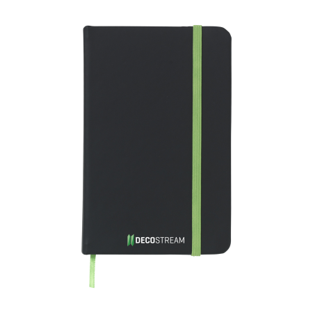 Get your uniquely designed black notebook printed at Helloprint. Cheap and perfect for taking notes.