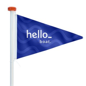 standing Boat Flags
