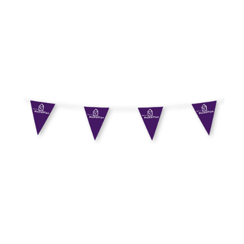 Bunting flags (Triangle)