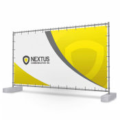 Construction Fence Banner