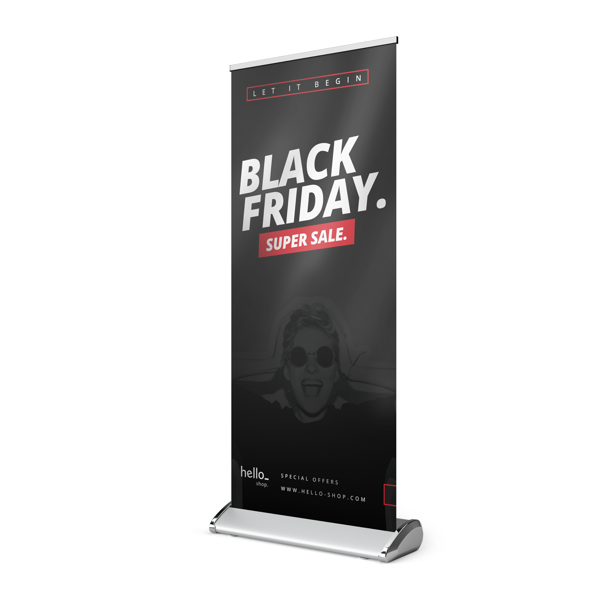 Roll-up banner bedrukken