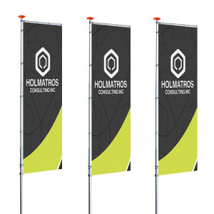 Order your sail flags for eye-cathing promotion
