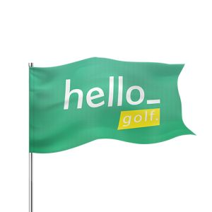 Golf flags personalisation