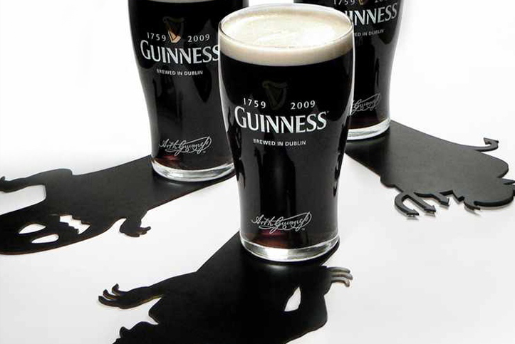 Halloween Shadows Guinness marketing campaign