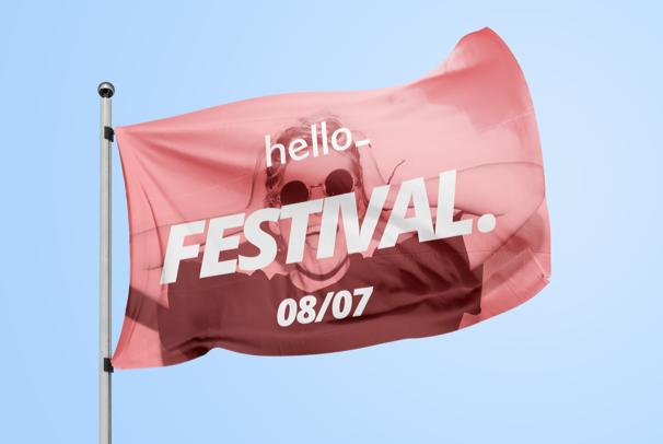 Flag printing & Advertising Flags   Helloprint