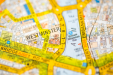 A map icon of Westminster used to indicate that Helloprint offers printing solutions in Westminster