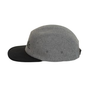 standing 5-panel Two Colour Cap