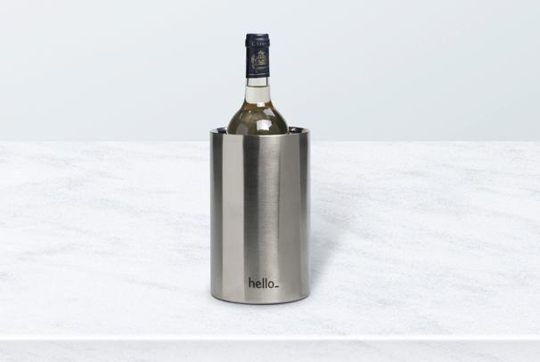 wijnkoeler met logo