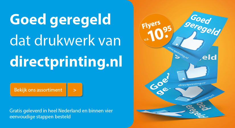 Directprinting.nl - banner 2 January 2018