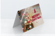 Glossy Christmas cards