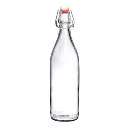 A 1 litre bottle with a clip lock available at Helloprint with a custom logo or icon printed on the side.