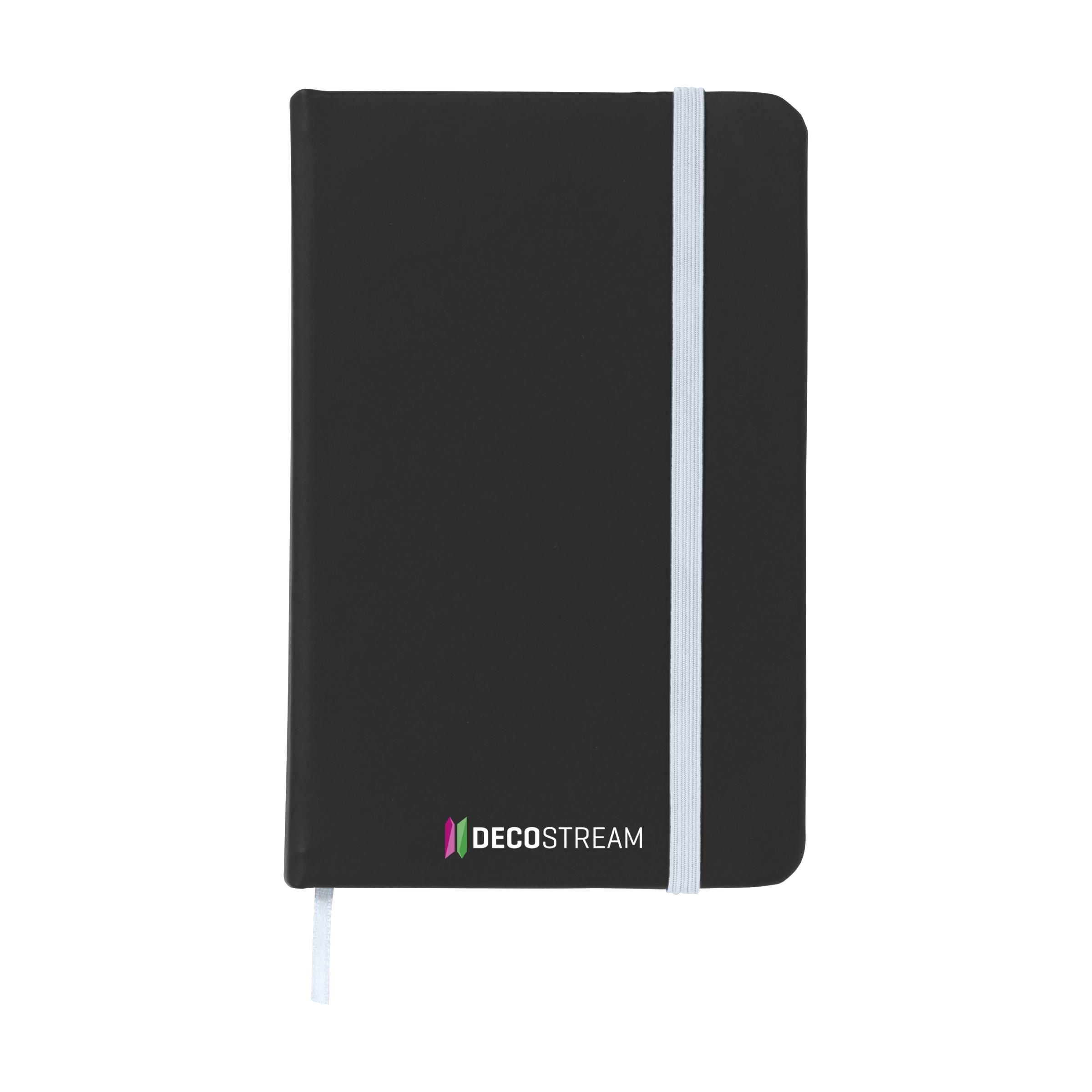 Print custom notebooks in black by imprinting your logo, design and message. Available in a wide range of colors and materials