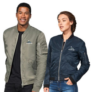 standing Light Weight Bomber Jacket Sol's