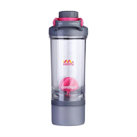Outdoor water bottle. Contigo Shake & Go. Awesome for your colleagues. Produced by Drukzo