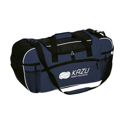 Cheap and large sports bag which can also be used for travels. At Helloprint you can personalise the bag with your logo.