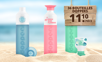 Bouteilles Doppers